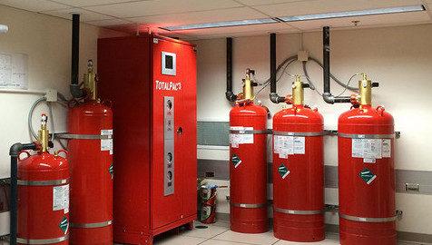 Informasi Cara Instalasi Pemadam Api FM 200 Fire Suppresion System
